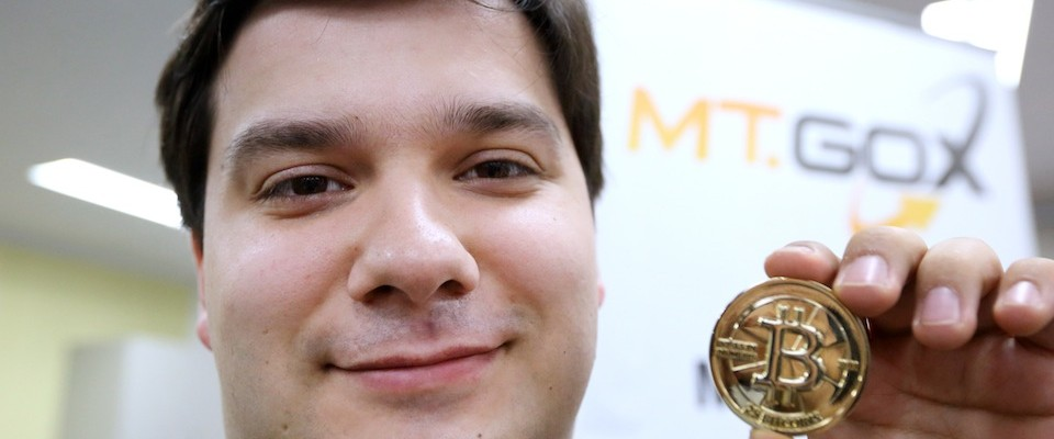 Tibanne CEO Mark Karpeles At Mt.Gox Bitcoin Exchange And Bitcoin Images